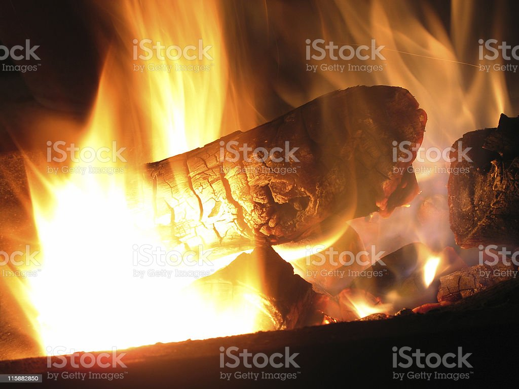 Element Fire royalty-free stock photo