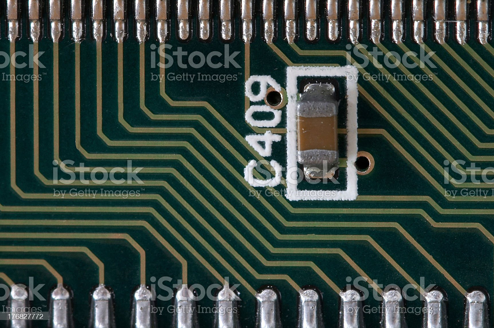 SMD element royalty-free stock photo