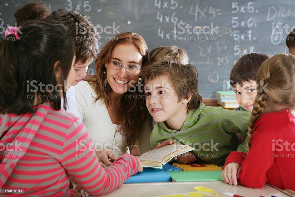 Elementary age stock photo