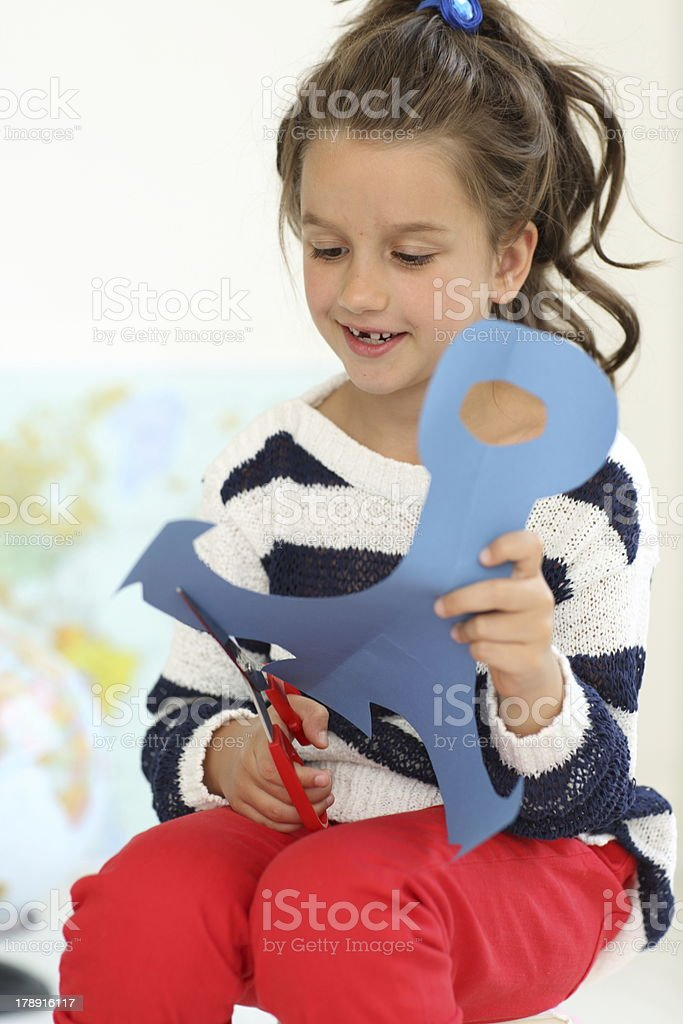 Elementary age student royalty-free stock photo