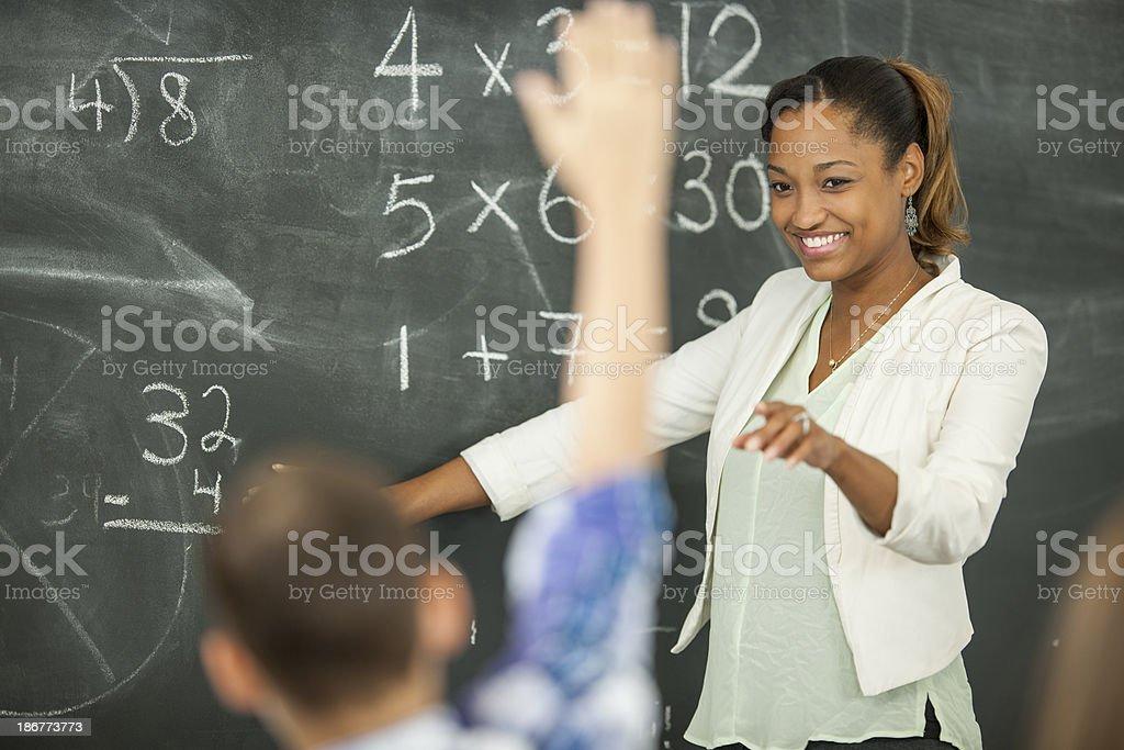 Elementary Class stock photo