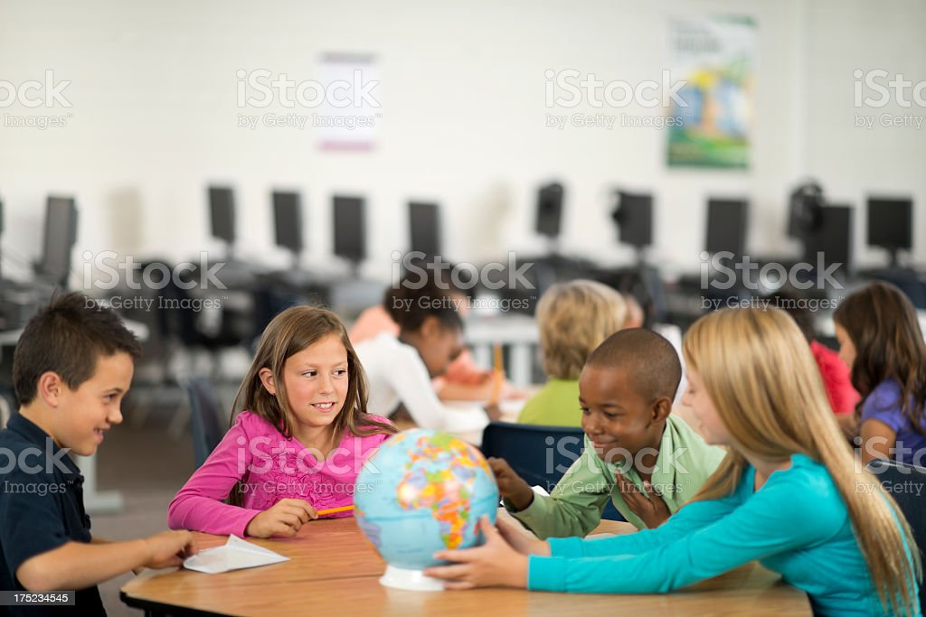 Elementary School royalty-free stock photo