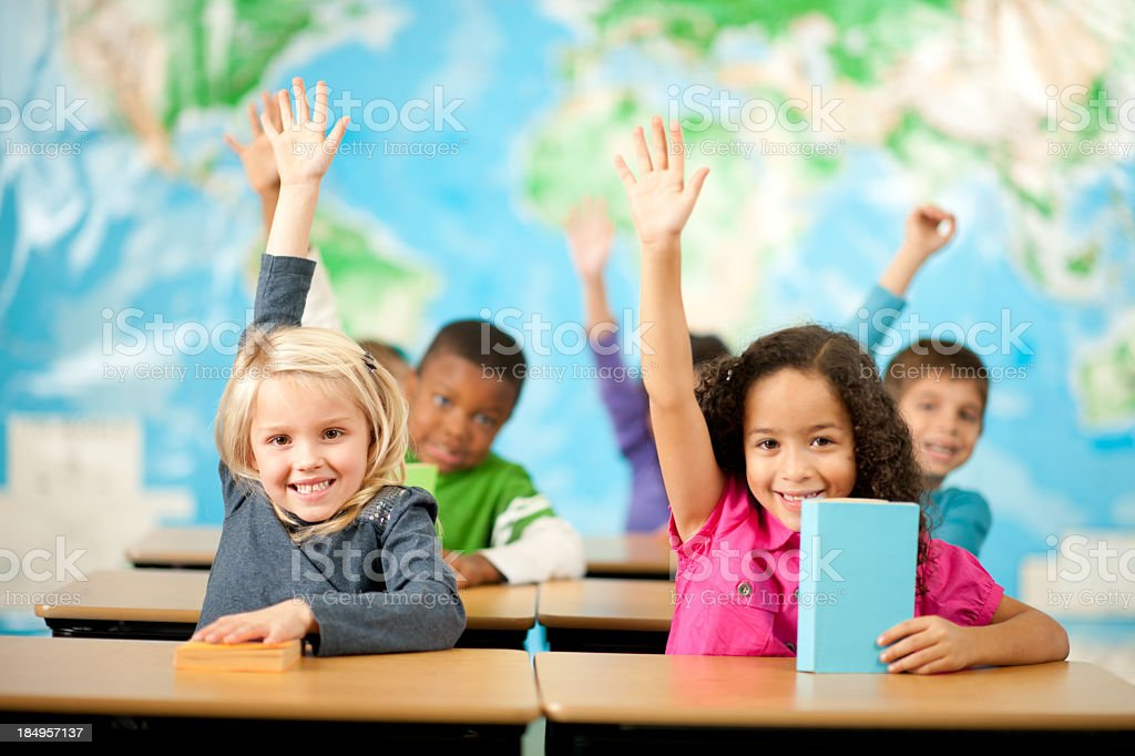 Elementary school stock photo