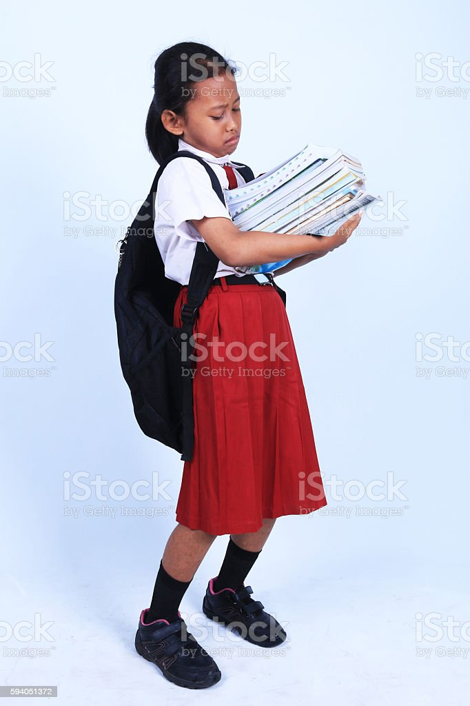 Elementary school student stock photo
