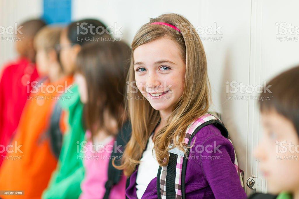 Elementary School Students stock photo