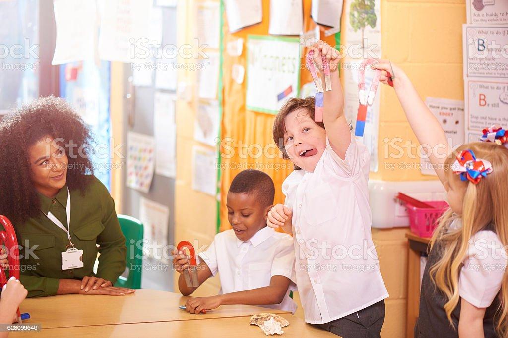 elementary science stock photo