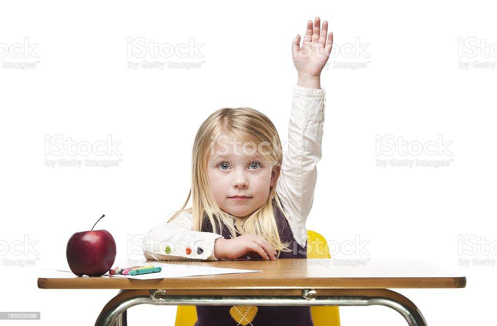 Elementary Student royalty-free stock photo