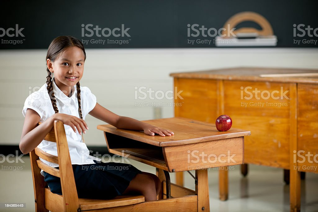 Elementary students royalty-free stock photo