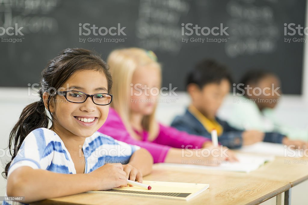 Elementary Students stock photo