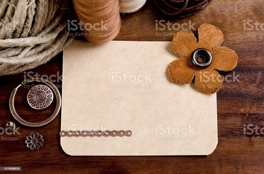 elements for handmade royalty-free stock photo