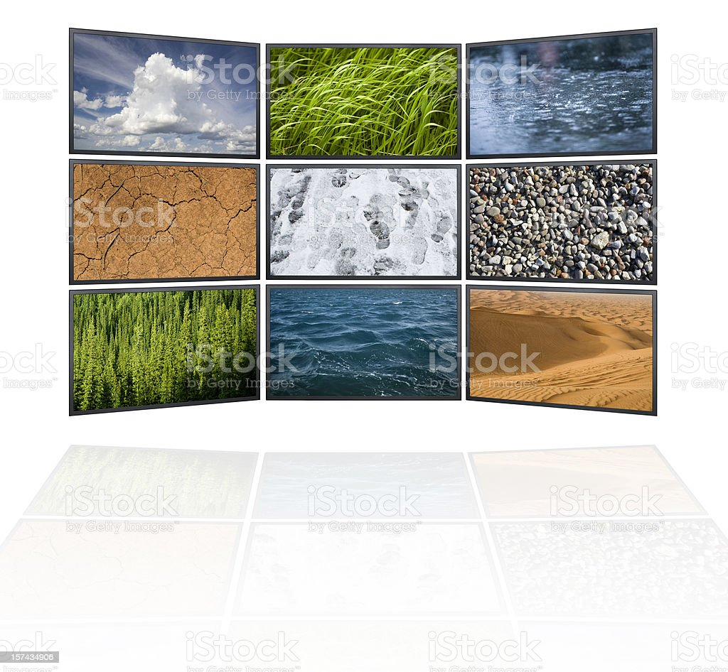 Elements of the environment in high definition stock photo