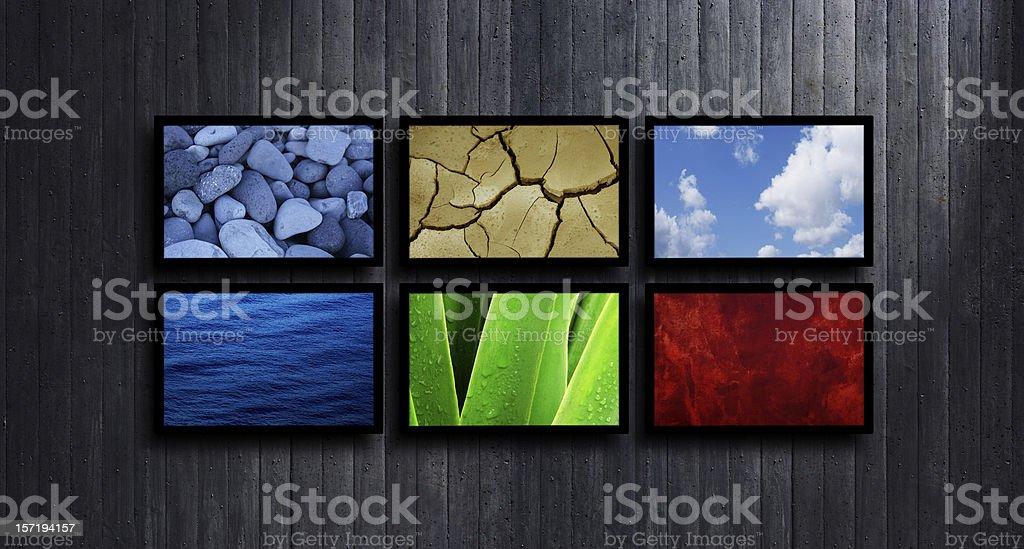 Elements stock photo
