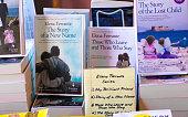 Elena Ferrante's Neapolitan Series in Bookstore Display