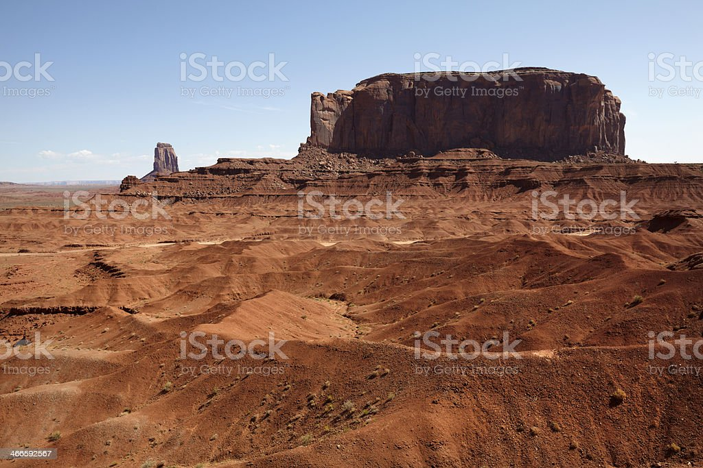 Elephant Butte from John Fords Point royalty-free stock photo