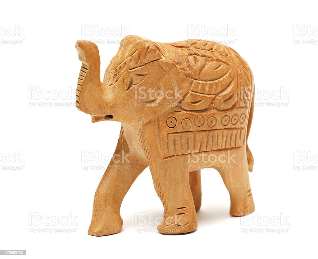 Elephant figure royalty-free stock photo