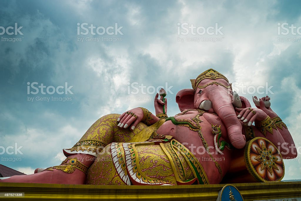 Elephant - headed god stock photo