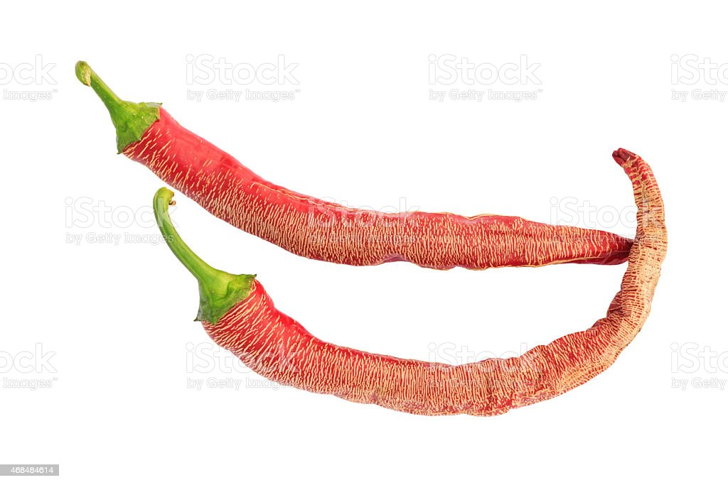 Elephant Pepper: a variety of red hot chili pepper stock photo