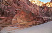 Elephant Shaped Rock - Petra, Jordan