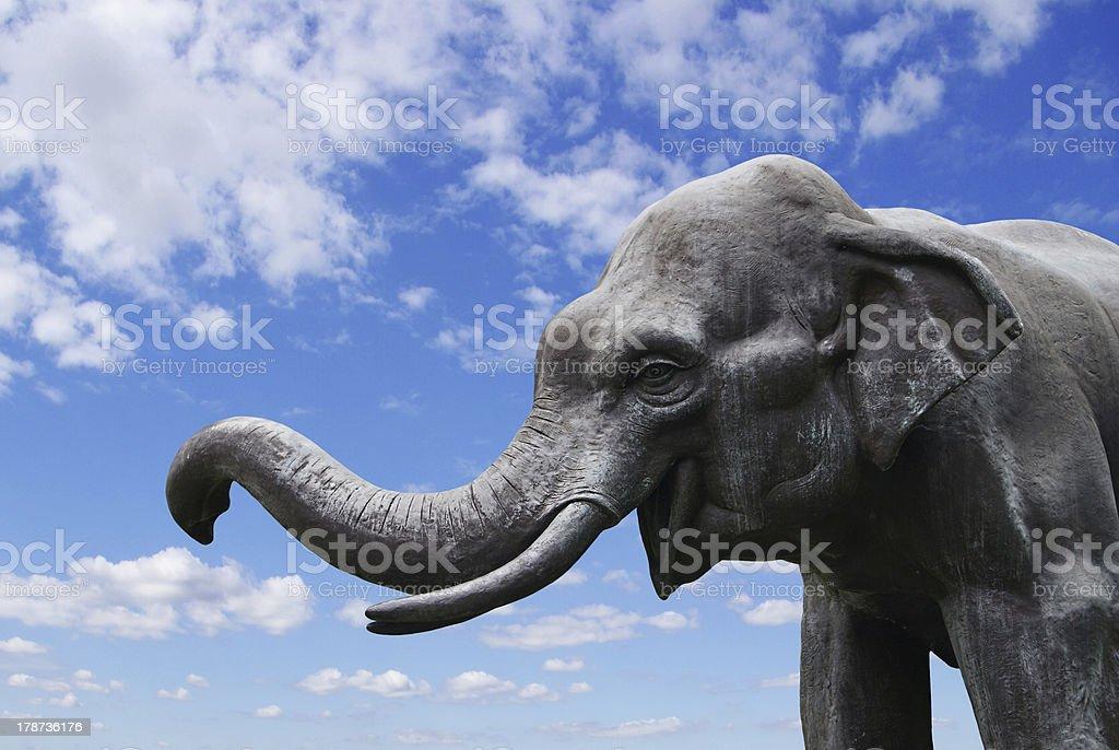 Elephant statue royalty-free stock photo