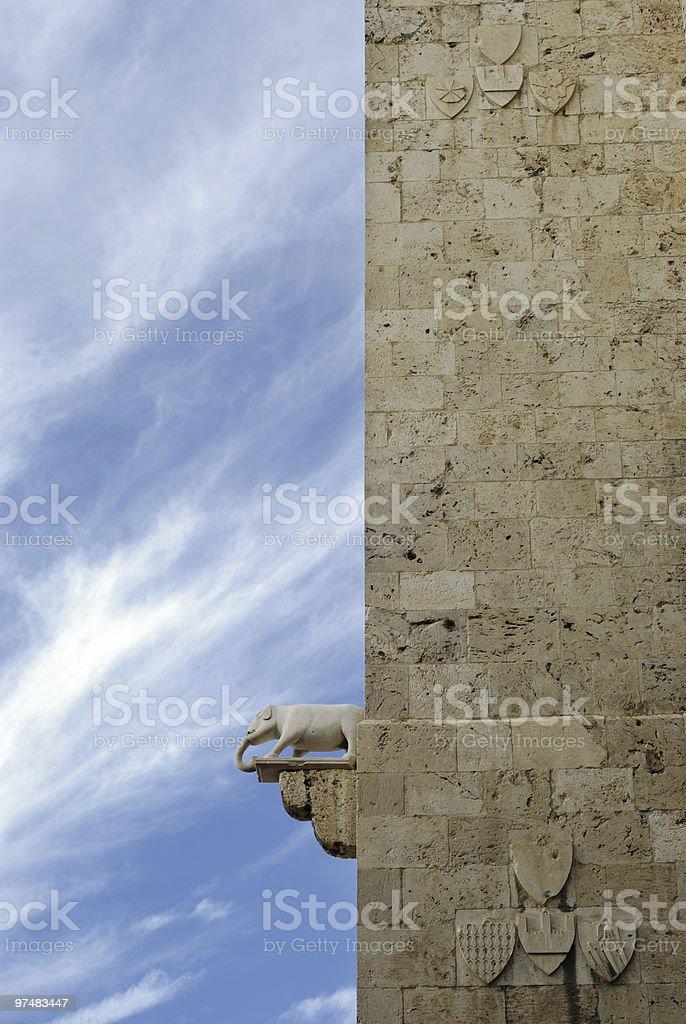 Elephant Tower royalty-free stock photo