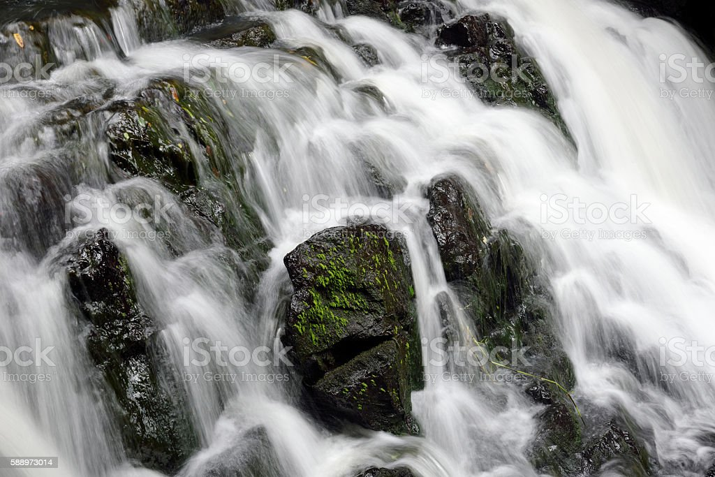 Elephanta falls,Shillong ,India stock photo