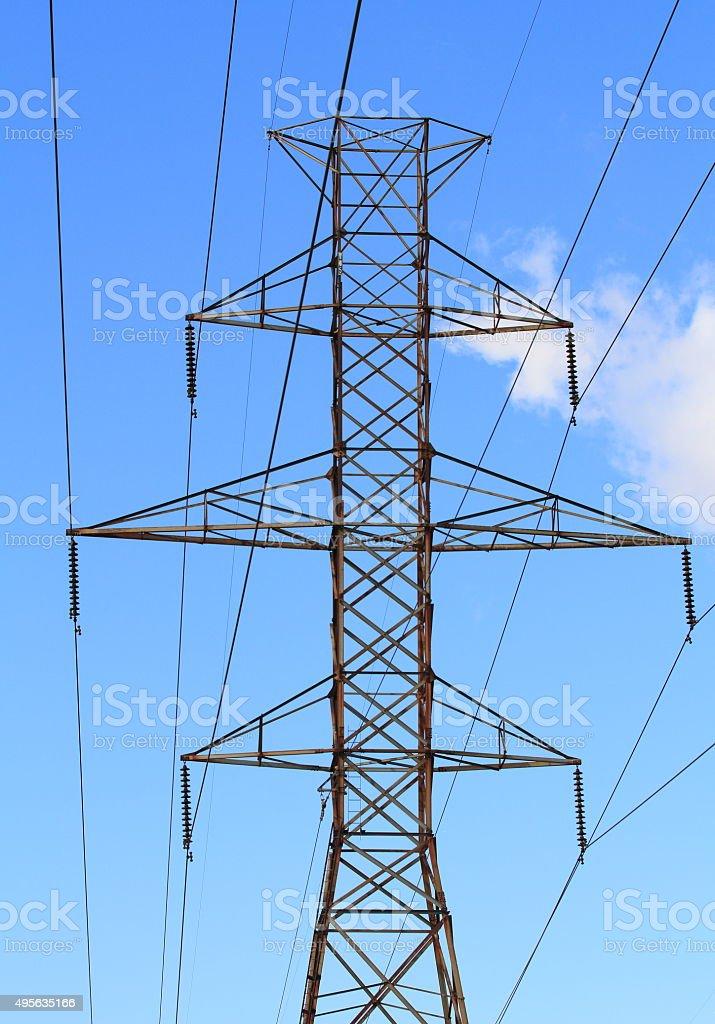 Eletricity Tower stock photo