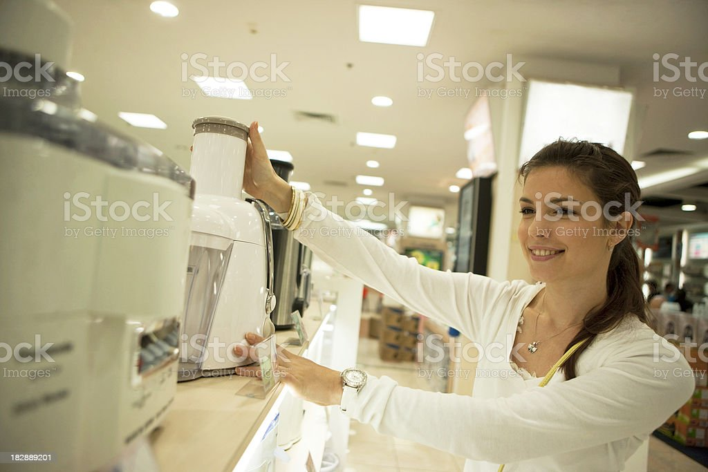 Eletronics store royalty-free stock photo
