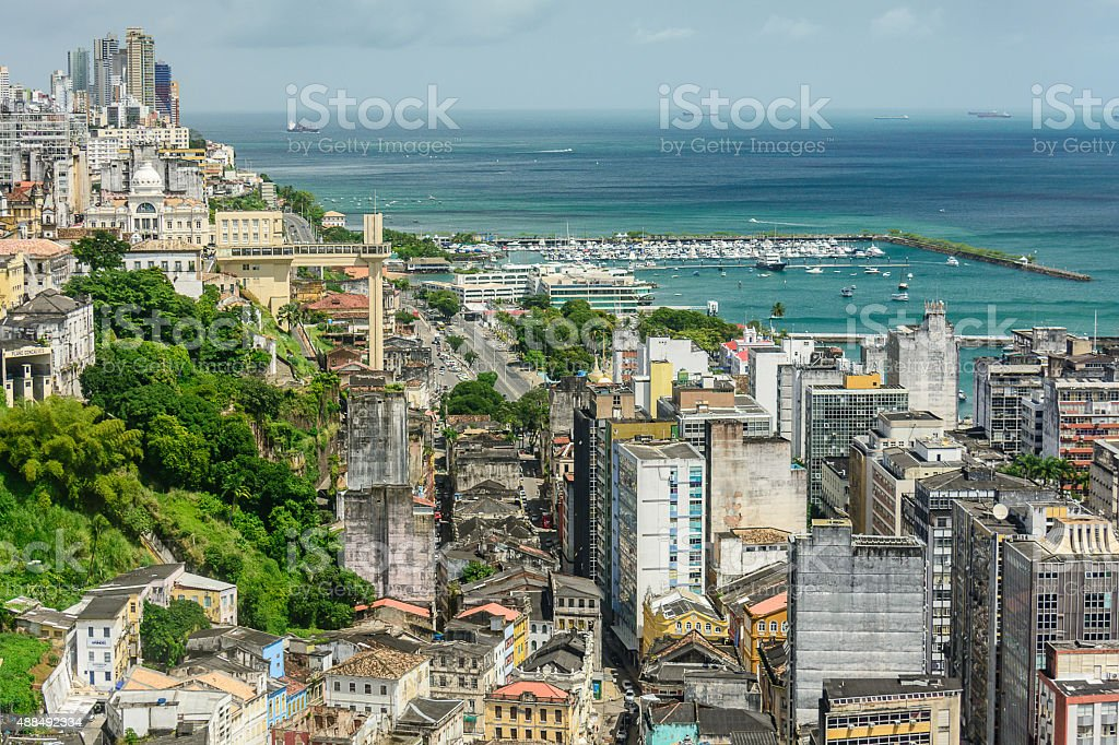 Elevador Lacerda – Salvador – Bahia – Brasil stock photo
