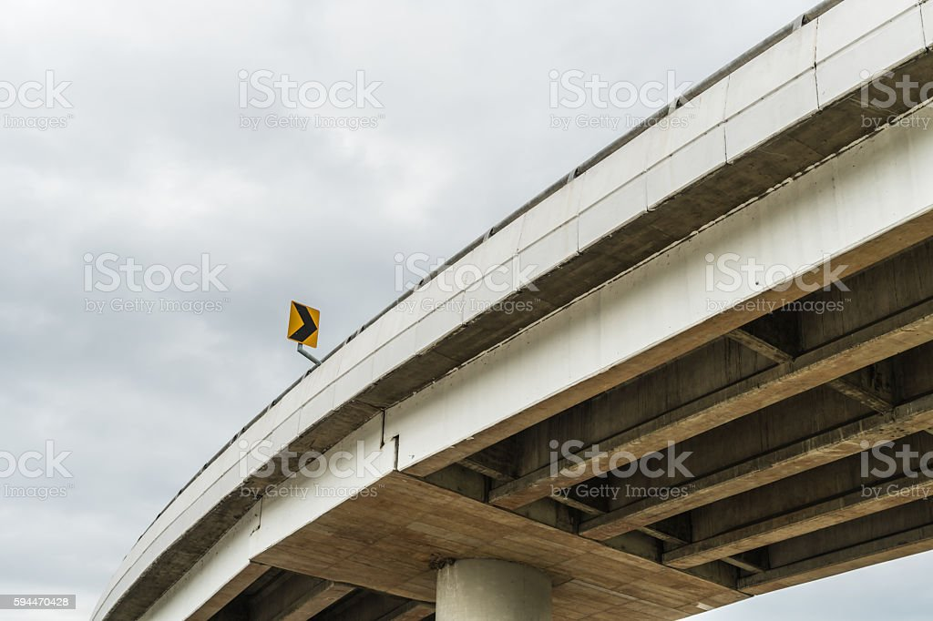 Elevated express way stock photo