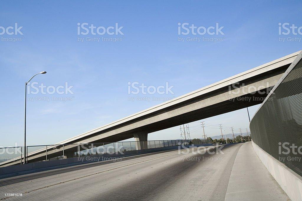 Elevated Freeway royalty-free stock photo