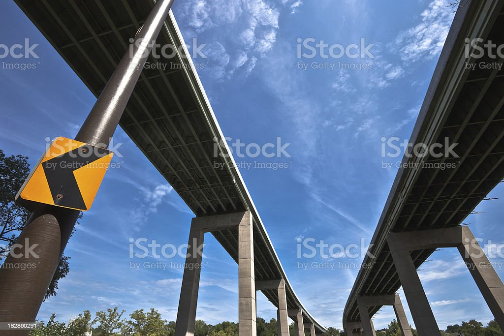 Elevated Highway royalty-free stock photo