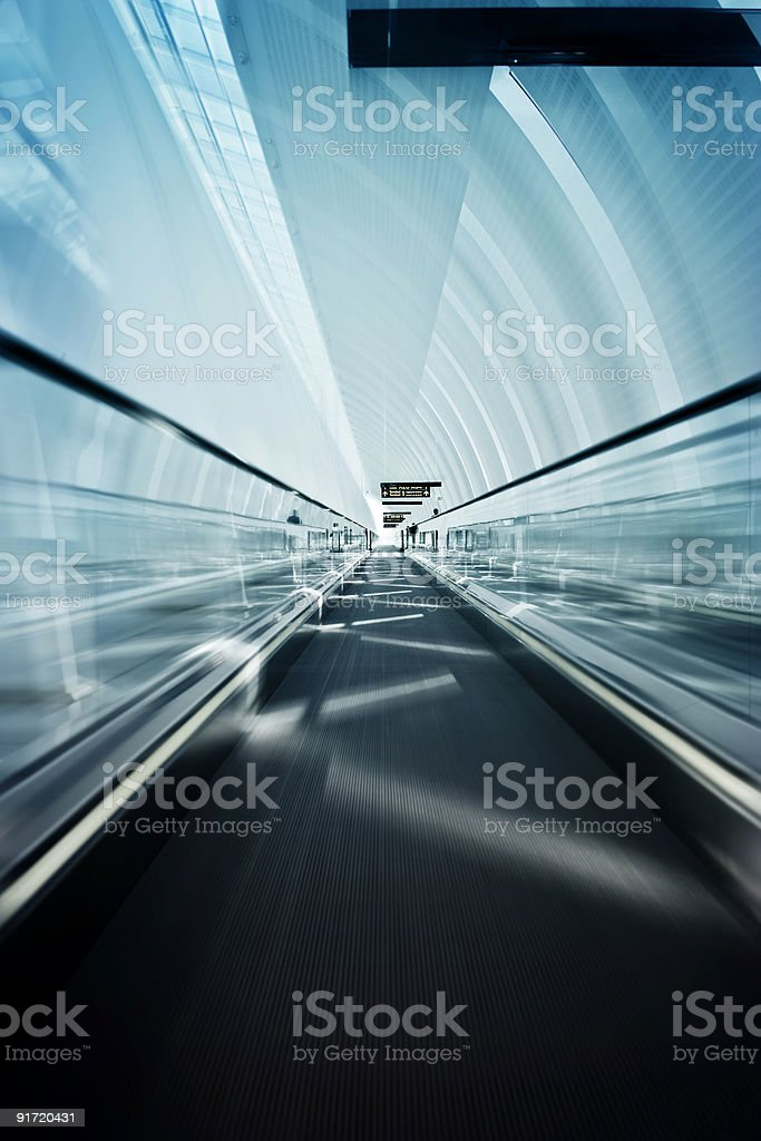 Elevated walkway royalty-free stock photo