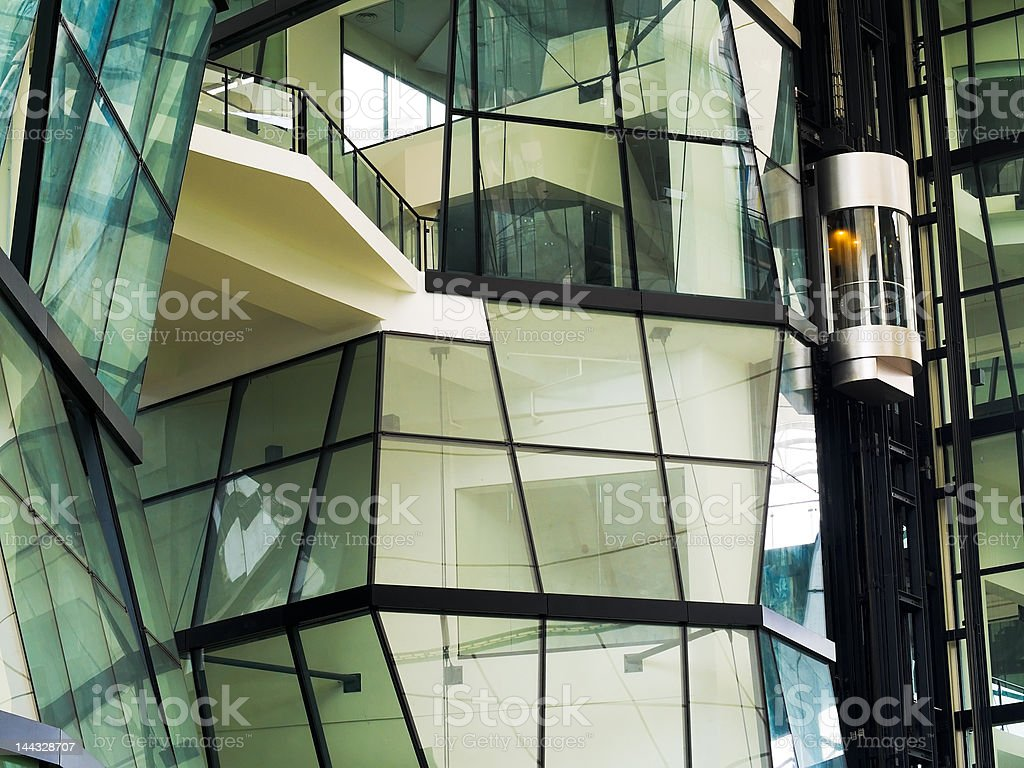 Elevator Capsule royalty-free stock photo