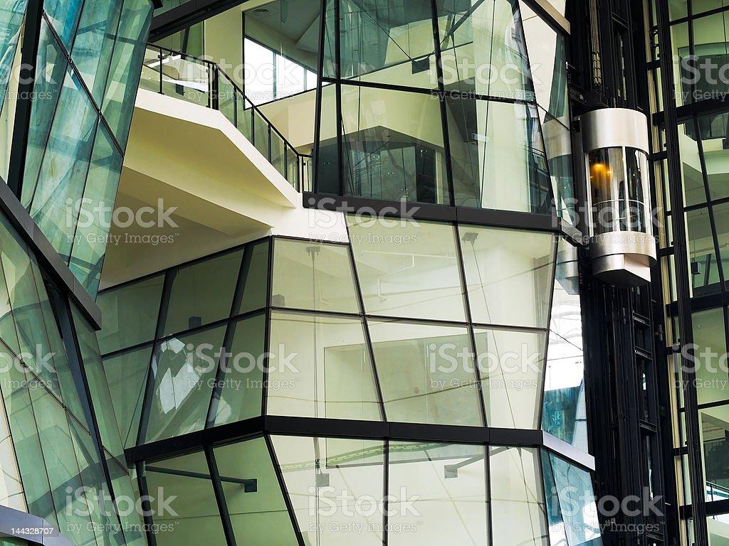 Elevator Capsule stock photo