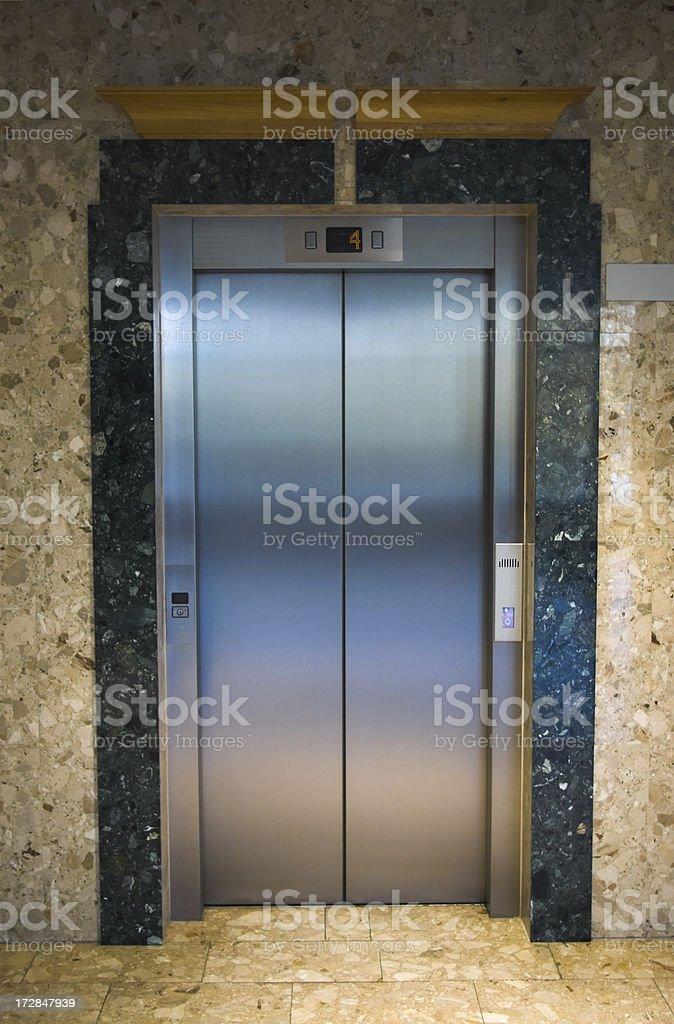 Elevator door royalty-free stock photo