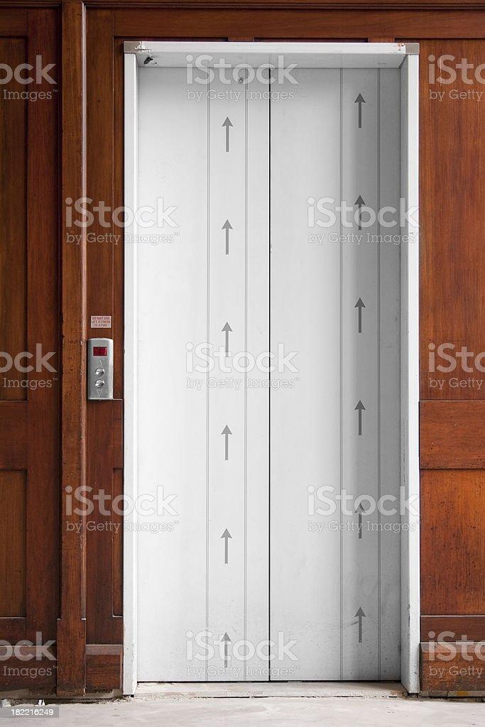 Aufzug entfernt. Lizenzfreies stock-foto