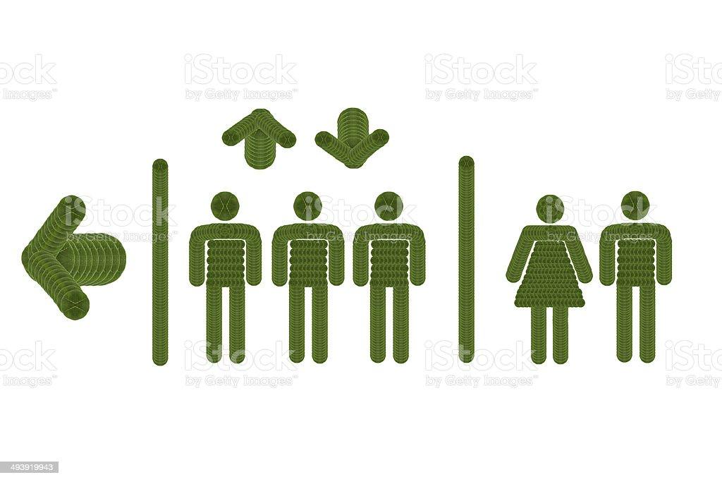 Elevator icon. stock photo