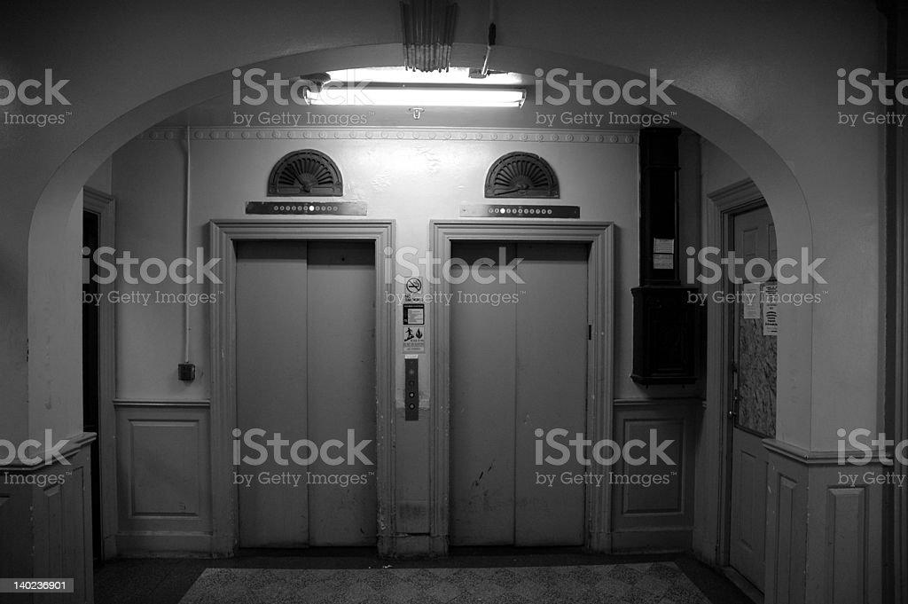 Elevator Lobby royalty-free stock photo