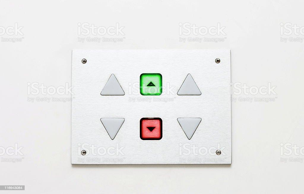 elevator panel royalty-free stock photo