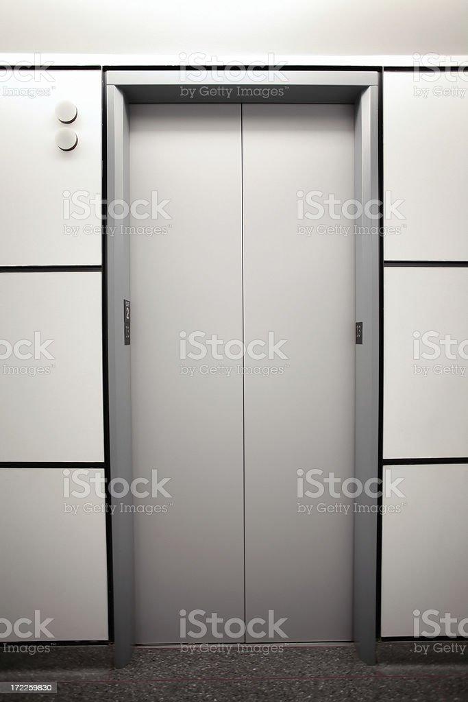 elevator royalty-free stock photo