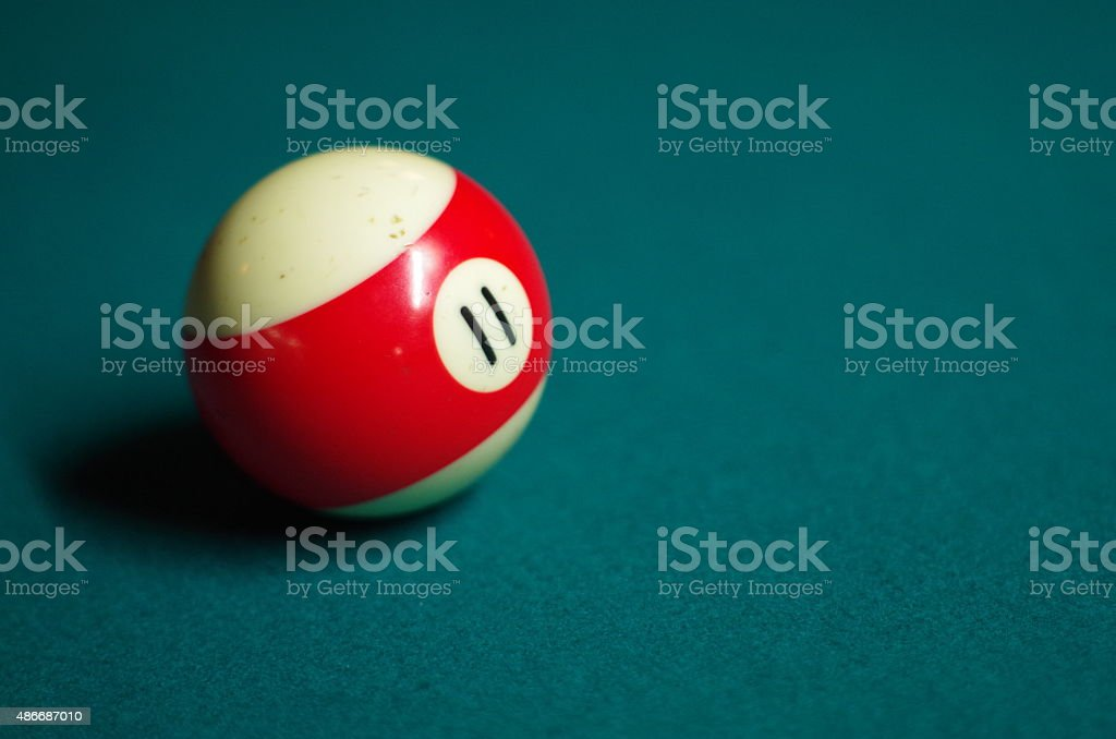 Eleven Ball stock photo