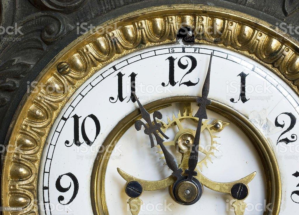 Eleven O'clock royalty-free stock photo