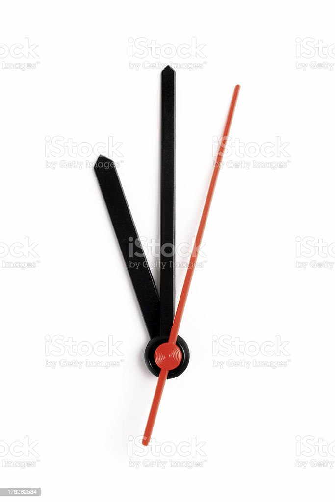 Eleven o'clock stock photo
