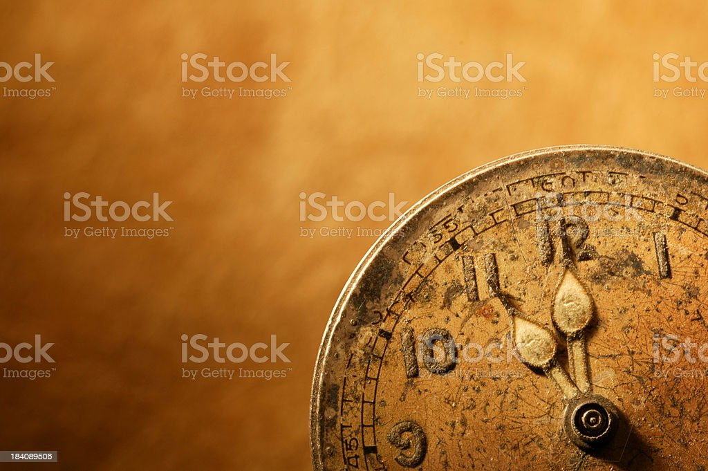 Eleventh Hour royalty-free stock photo