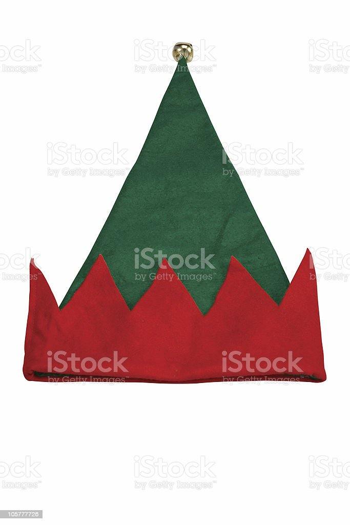 Elf Hat royalty-free stock photo