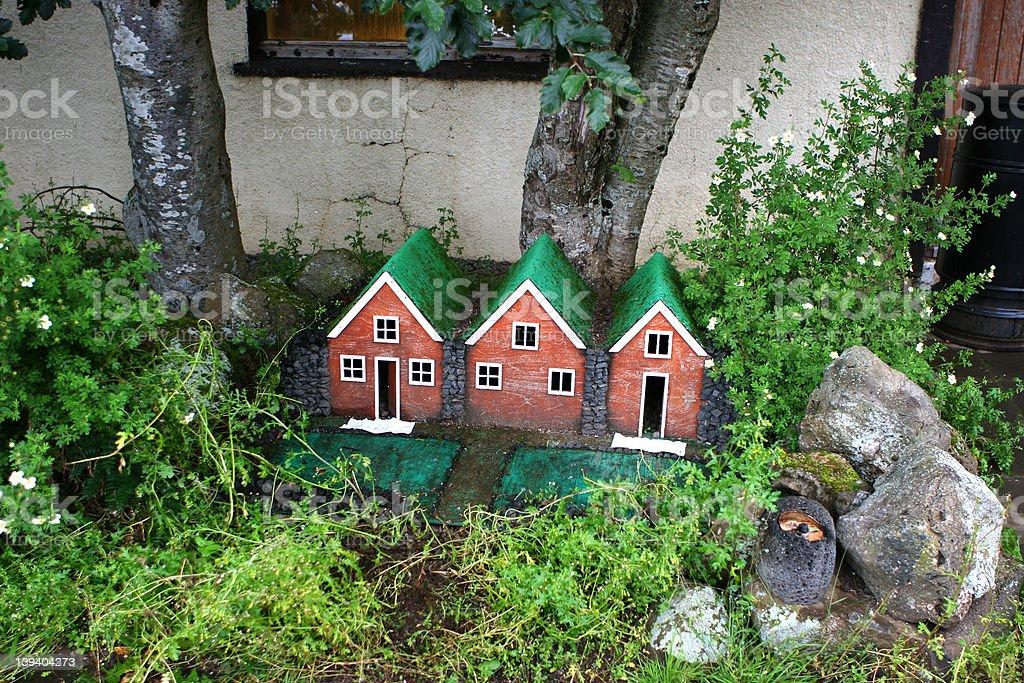 Elf House stock photo