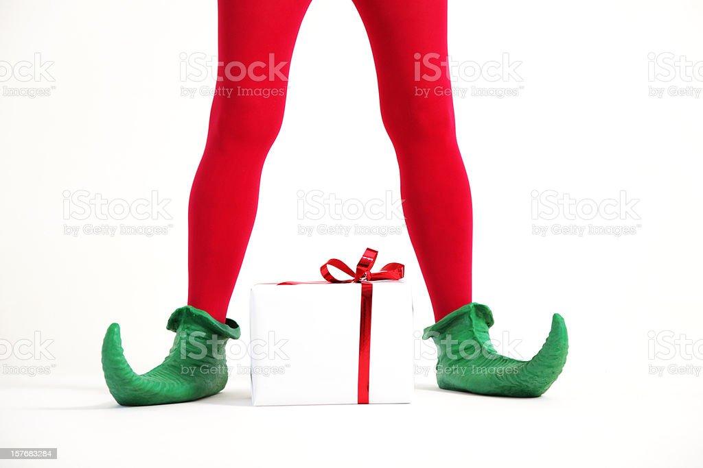 Elf legs stock photo