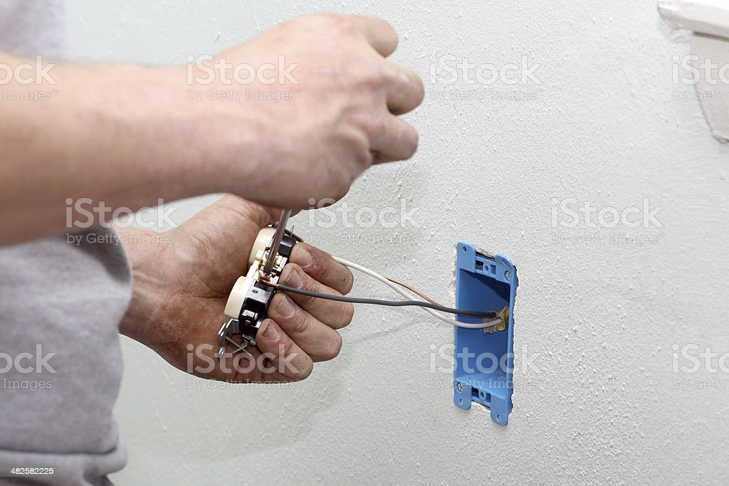 Elictric Switch royalty-free stock photo