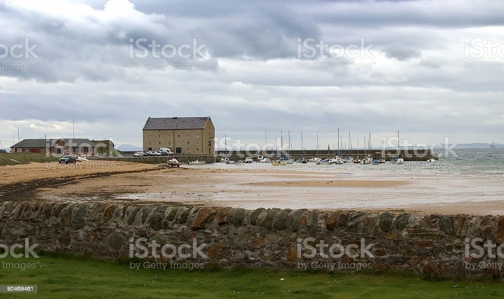 Elie Bay - tide's out. royalty-free stock photo