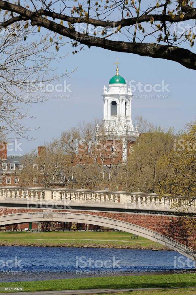Eliot House in the Spring royalty-free stock photo